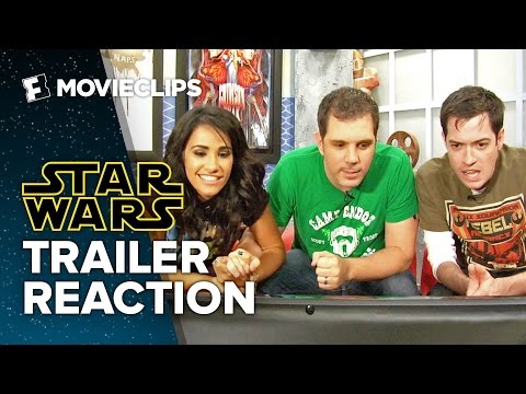 Star Wars - The Force Awakens Trailer Reaction (2015) - Movie3Some HD