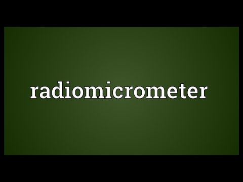 Header of radiomicrometer