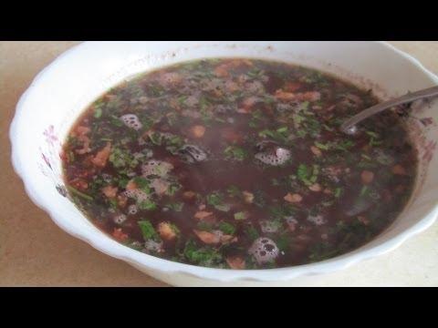 Как приготовить суп с фасолью - видео