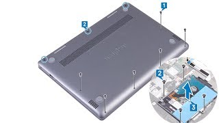 Dell inspiron 5481   Hard Drive replacement  - Laptop repair