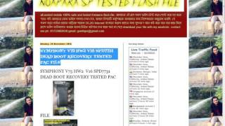 symphony v75 all version tested flash file DOWNLOAD LINK