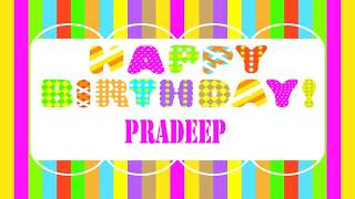 Pradeep Wishes & Mensajes - Happy Birthday