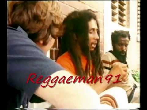 Bob Marley interview about herb, rastafarians...