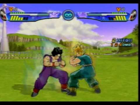 Dragon Ball Z Budokai 3 PS2 Gohan vs Goku