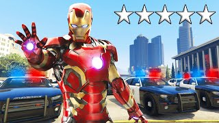 Playing As IRON MAN In GTA 5! (Mods)