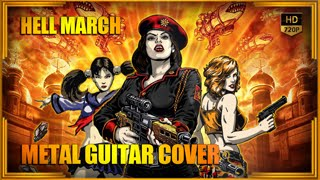 HELL MARCH - METAL COVER by ANUBYS | Red Alert Edition | 2013