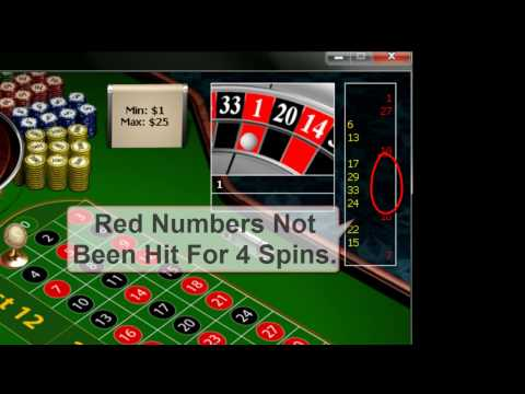 Does the red black roulette system work