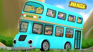 Wheels On The Bus | Nursery Rhymes And Videos For Children by Farmees