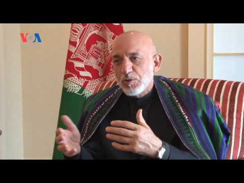 Interview with Former Afghan President - Hamid Karzai (VOA - Fawad Lami)