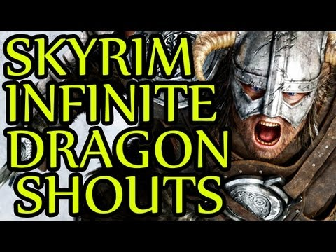 Skyrim GLITCH Infinite Dragon Shouts
