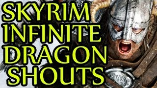 Skyrim GLITCH Infinite Dragon Shouts