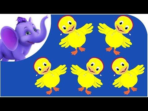 Five Little Ducks - Nursery Rhyme & Karaoke Version