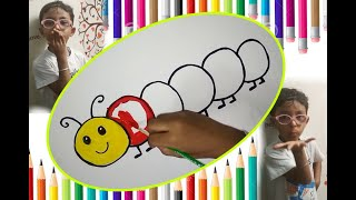 Coloring with vivan-4 ( learn Colors for kids )