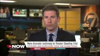 video Marc Stewart appears on The Now Denver to summarize some of the emotional testimony heard in court Wednesday during the trial of James Holmes for the Aurora Movie Theater Shooting. People...