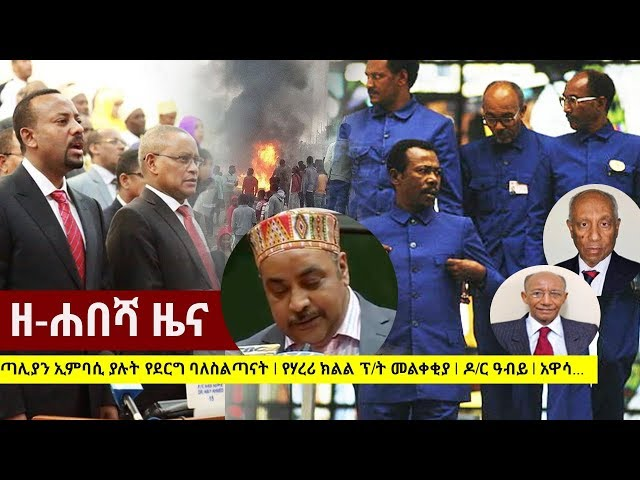 Zehabesha Daily Ethiopian News June 17, 2018