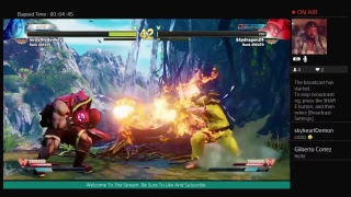Street Fighter V Livestream Grinding Hope Not To Rage Quit This Time