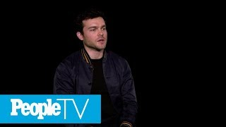 Alden Ehrenreich Got Harrison Ford's 'Blessing' To Play Han Solo | PeopleTV