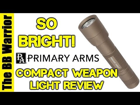 Blinding Light | Primary Arms Compact Weapon Light Review
