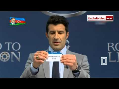 UEFA Champions League 2013 2014  1/4 final draw