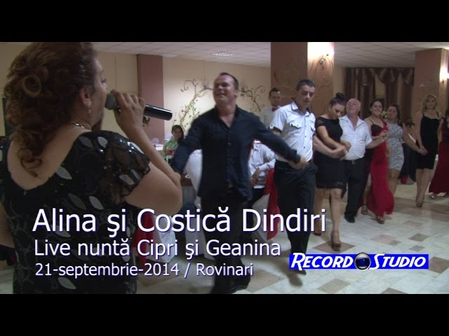 Alina si Costica Dindiri LIVE (colaj HORA) part.3 Nunta Cipri si Geanina, Rovinari 21-09-2014