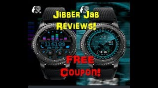 Samsung Gear S3 Digital Watch Faces by 78 Degrees N - FREE Coupon Giveaway! - Jibber Jab Reviews!