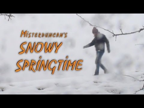 Learning English - SNOWY SPRINGTIME