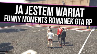 ROMANEK GTA RP   JA JESTEM WARIAT  [ JUSZ   TAK O ]   Funny Moments