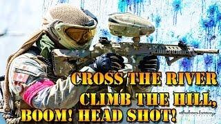 CROSS IT, CLIMB IT, SHOOT IT!