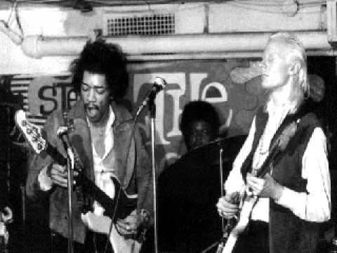 Jimi Hendrix & Johnny Winter - Instrumental Jam 1