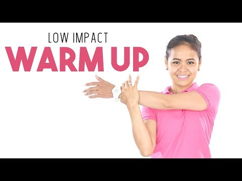 Hindari Cedera ! Inilah Gerakan Pemanasan Sebelum Olahraga | Low Impact Warm Up