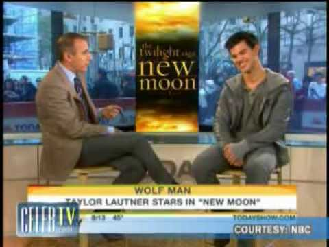 Taylor Lautner Talks Taylor Swift on Today 11-20-09.