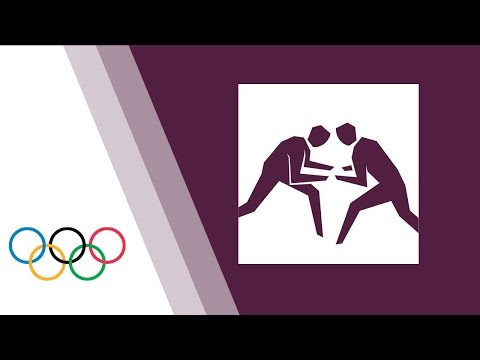 Wrestling - Men Freestyle 55kg & 74kg Mat B - London 2012 Olympic Games