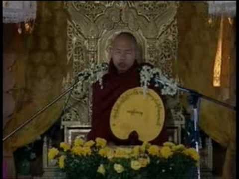 #7 Sayadaw Ashin Zawana In Myanmar Part 7 video
