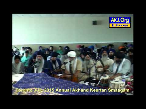 103 Toronto July 2015 Smaagam - Saturday Morning - Bh. Tejinderpal Singh Jee