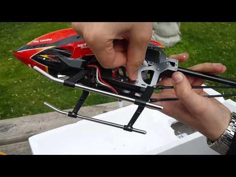 WLToys V913 Kutu Açılışı, İlk İnceleme ve Deneme Uçuşu