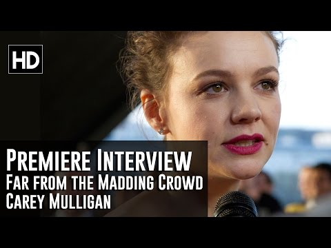 Carey Mulligan Interview - Far From the Madding Crowd Premiere