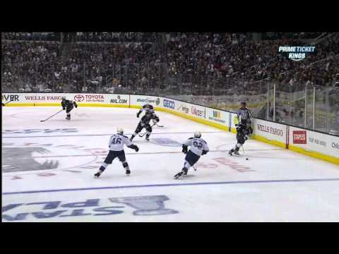 Drew Doughty snapshot goal 1-0 May 10 2013 St. Louis Blues vs LA Kings NHL Hockey