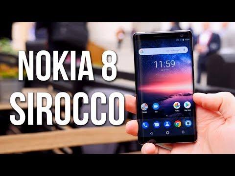 Nokia 8 Sirocco - Nokia's Android ONE Flagship 2018 !