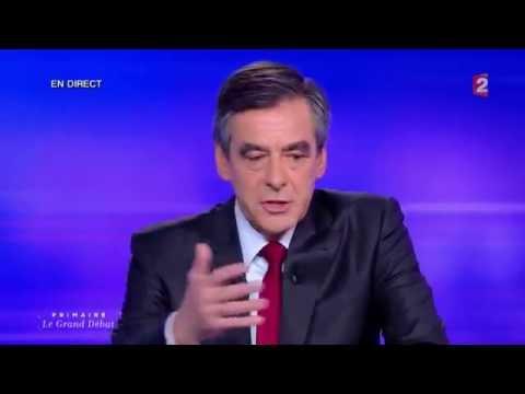 Дебаты о России и Путине: Фийон против Жюппе (с русскими субтитрами)