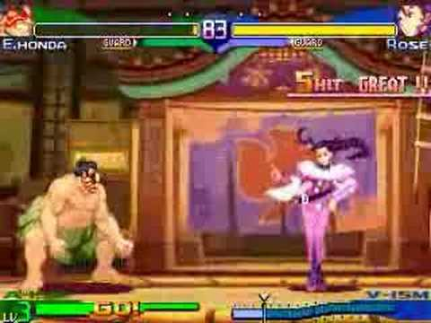 Street Fighter Alpha 3 Tricks and Combo Glitches by Xenozip