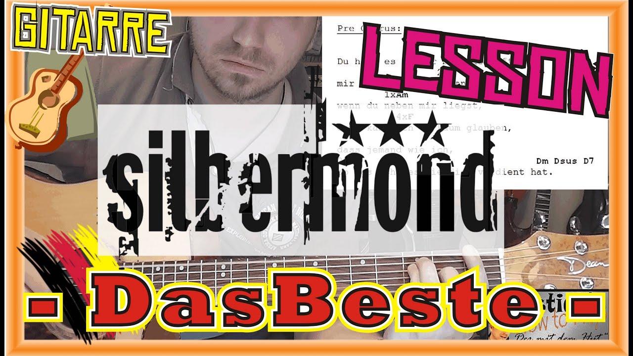 how to play silbermond das beste tabs akkorde akustik gitarre lernen tutorial hd deutsch youtube. Black Bedroom Furniture Sets. Home Design Ideas