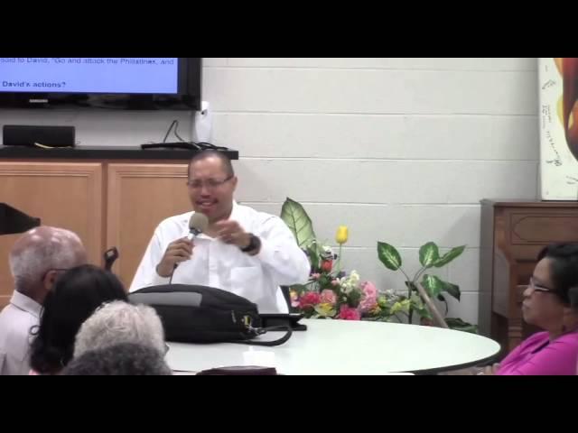 Monday Night Bible Study 8-25-14