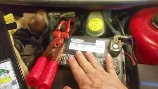 Advance Auto Silver 12V Auto Battery 550 CCA Load test