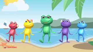 Chú ếch con – Remix nhạc thiếu nhi vui nhộn, sôi động, hay nhất | SaovangTV