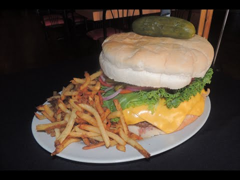 Food Challenge - Kookamonga Burger Challenge (As Seen on Man vs Food)