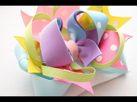 Surround-a-bow tutorial/instructions (How to make a surround a bow)