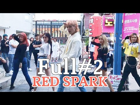 "[K-POP in Public] Full#2 190514 ""RED SPARK"" cover dance Hongdae busking"