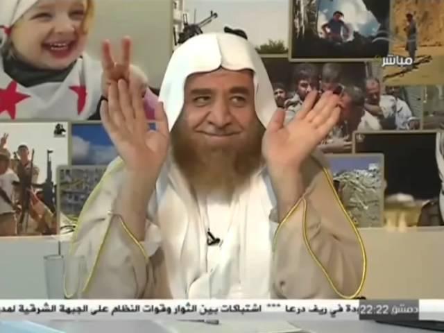 مع سوريا حتى النصر - الشيخ عدنان العرعور 23-10-2014