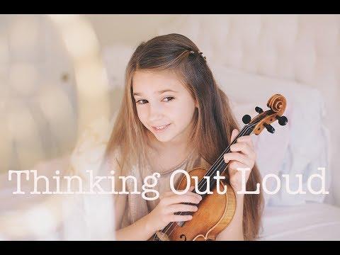 Thinking Out Loud (Ed Sheeran) - Violin Cover | Karolina Protsenko