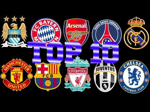 TOP 10: BEST PAID FOOTBALL CLUB'S by AVERAGE WEEKLY WAGE/SALARY